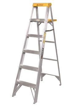 Escalera de aluminio mpw maquinarias limitada for Precios de escaleras de tijera de aluminio